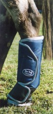 Floating Boot Back Navy/Silver